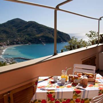 Uitzicht  Appartementen Cinque Terre