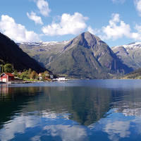 12-daagse fly-drive Fjorden, Gletsjers & Dalen