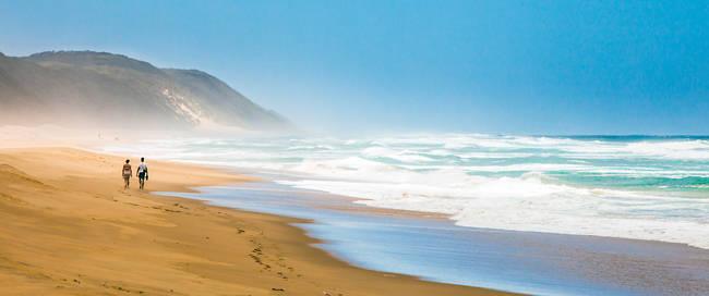 Strand iSimangaliso Wetland Park, Kwazulu-Natal