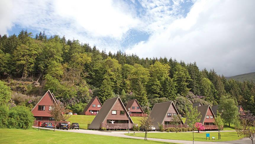 Vakantiewoningen Lochgoilhead Lodges Vakantiepark