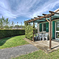 Terras bungalow