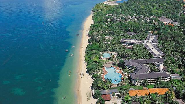 Overzicht strand Prama Sanur Beach Hotel
