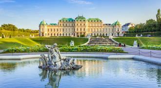 Wenen - Schloss Belvedere