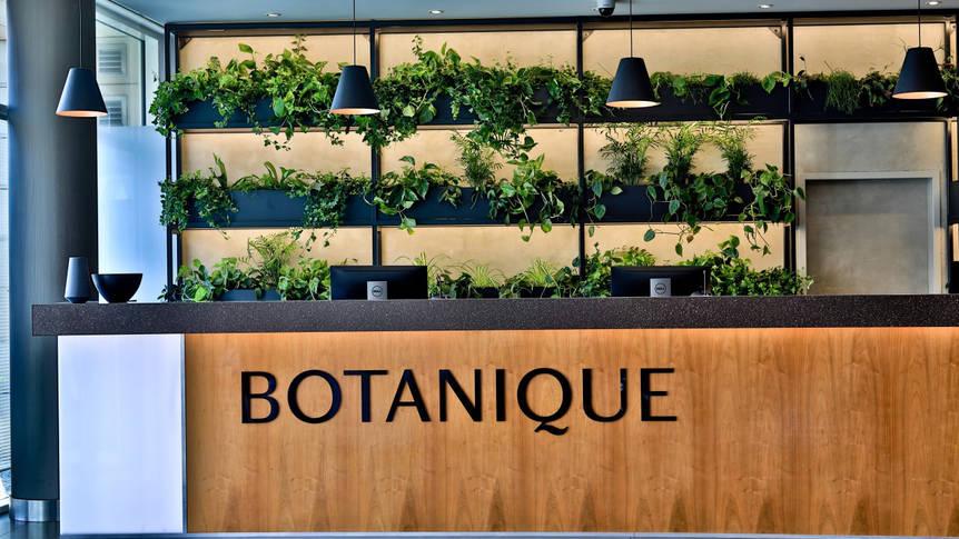 Receptie Botanique Hotel Prague