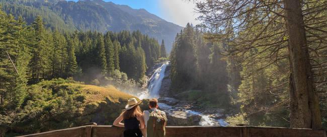 Krimml Watervallen