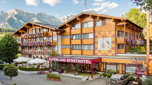 Buitenaanzicht Alpenland Sporthotel Maria Alm