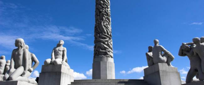 Oslo - Vigeland beeldenpark