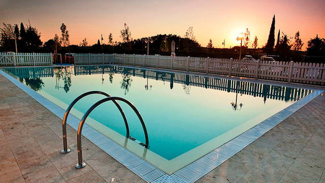 Zwembad Appartementen Chianti Village Morocco