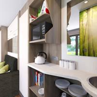Studio Interieur kitchenette