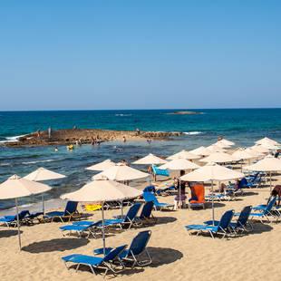 Strand Malia op Kreta