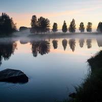 Zonsondergang Zweeds Lapland - foto: Visit Sweden