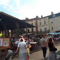 Woensdagavond eetmarkt in Belvès