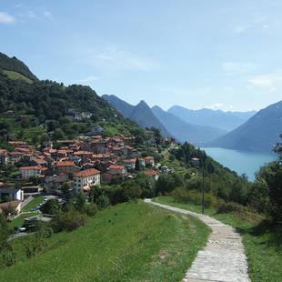 Monte Bré vlakbij Lugano