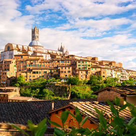 Siena en San Gimignano