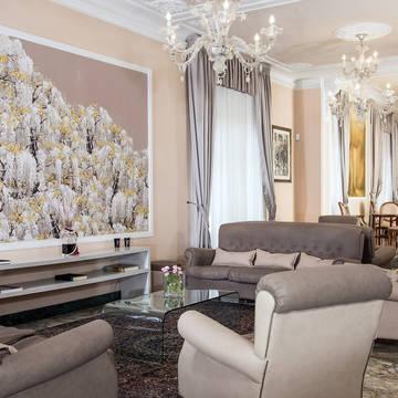 Lounge met bar Hotel Ercolini & Savi