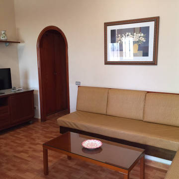 Voorbeeld woonkamer Bungalows San Valentin & Terraflor Park