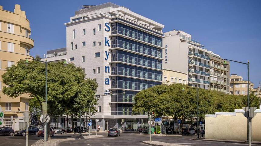 Vooraanzicht Hotel Occidental Lisboa