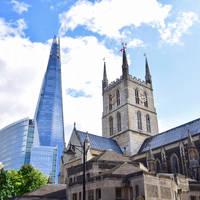 The Shard & Southwark Cathedral, op ca. 20 minuten van het hotel!