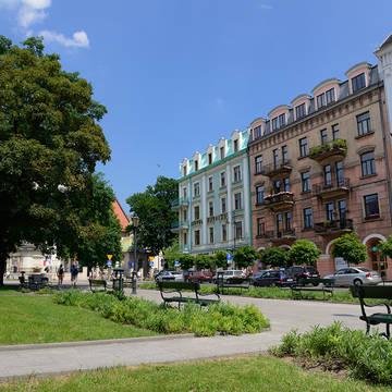 Voorkant Hotel Matejko