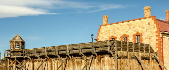 Historische gevangenis in Laramie