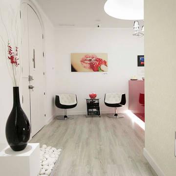 Receptie Hostal Vitium Urban Suites