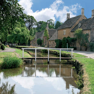 Lower Slaughter in Cotswolds