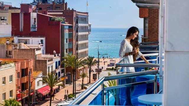Balkon Appartementen Blau