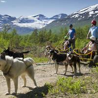 Wandelen met husky's - Foto: CH Visit Norway