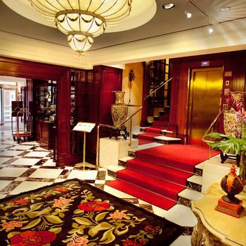 Lobby Gran Hotel Conde Duque