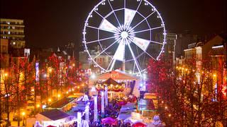Brussel kerstmarkt