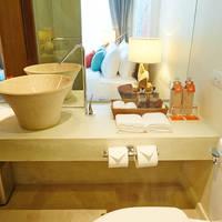 Bandara Phuket Beach Resort - Voorbeeld badkamer Deluxe Kamer