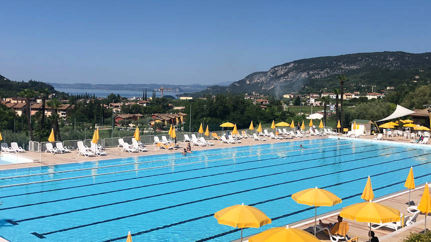 Zwembad Appartementen Poiano Resort