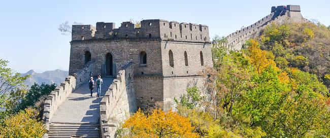 De Grote Muur in Mutianyu