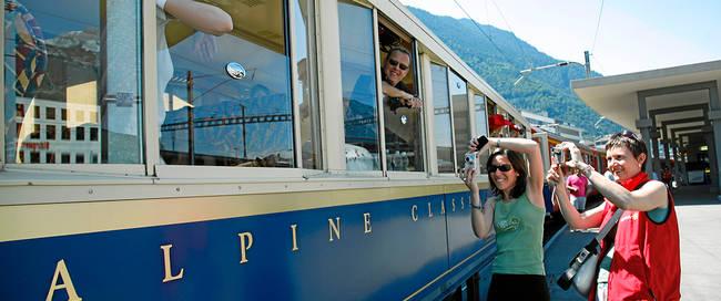 Trienreis vanuit Chur