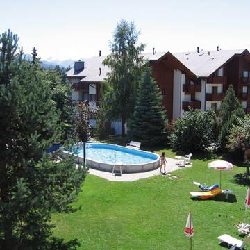 Tuin Hotel La Prairie