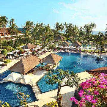 hoofd zwembad Nusa Dua Beach Hotel & Spa