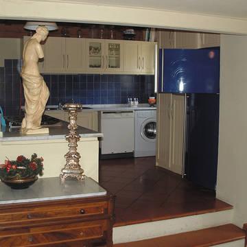 woonvoorbeeld keuken Appartementen Cinque Terre