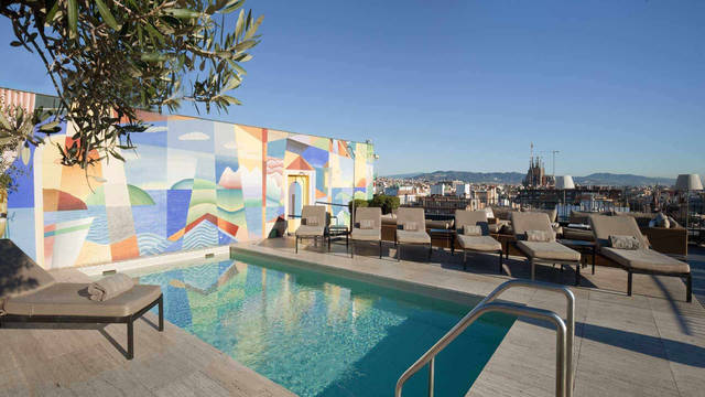 Zwembad Hotel Majestic