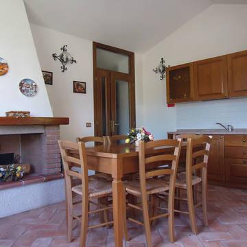 Keuken Appartementen Il Borgo di Montereggi