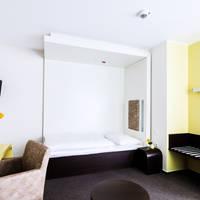 gelbes Einzelzimmer