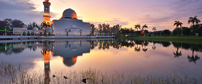 Drijvende moskee