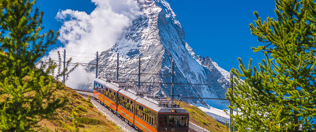 Gornergrat met Matterhorn