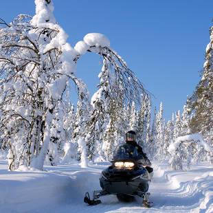 Sneeuwscootersafari