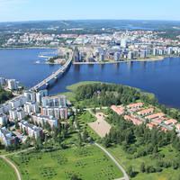 Jyvaskyla luchtfoto - Fotograaf: Raija Lehtonen
