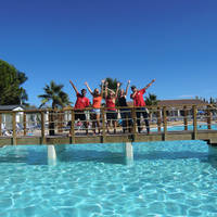 Camping Camping Bon Port in Lunel (Languedoc-Roussillon, Frankrijk)