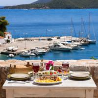 Diner met uitzicht