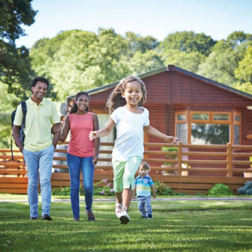 Familie Pen-Y-Garth Lodges