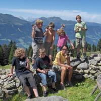 Kinderen op de berg