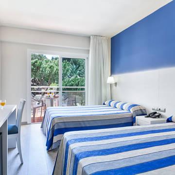 Voorbeeldkamer Hotel Oasis Park
