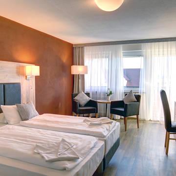 Voorbeeld 2/3-persoonskamer Landhotel Krone